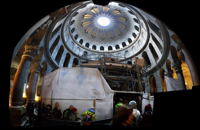 Ceremony at the Church of the Holy Sepulchre: Completion of Rotunda Restoration