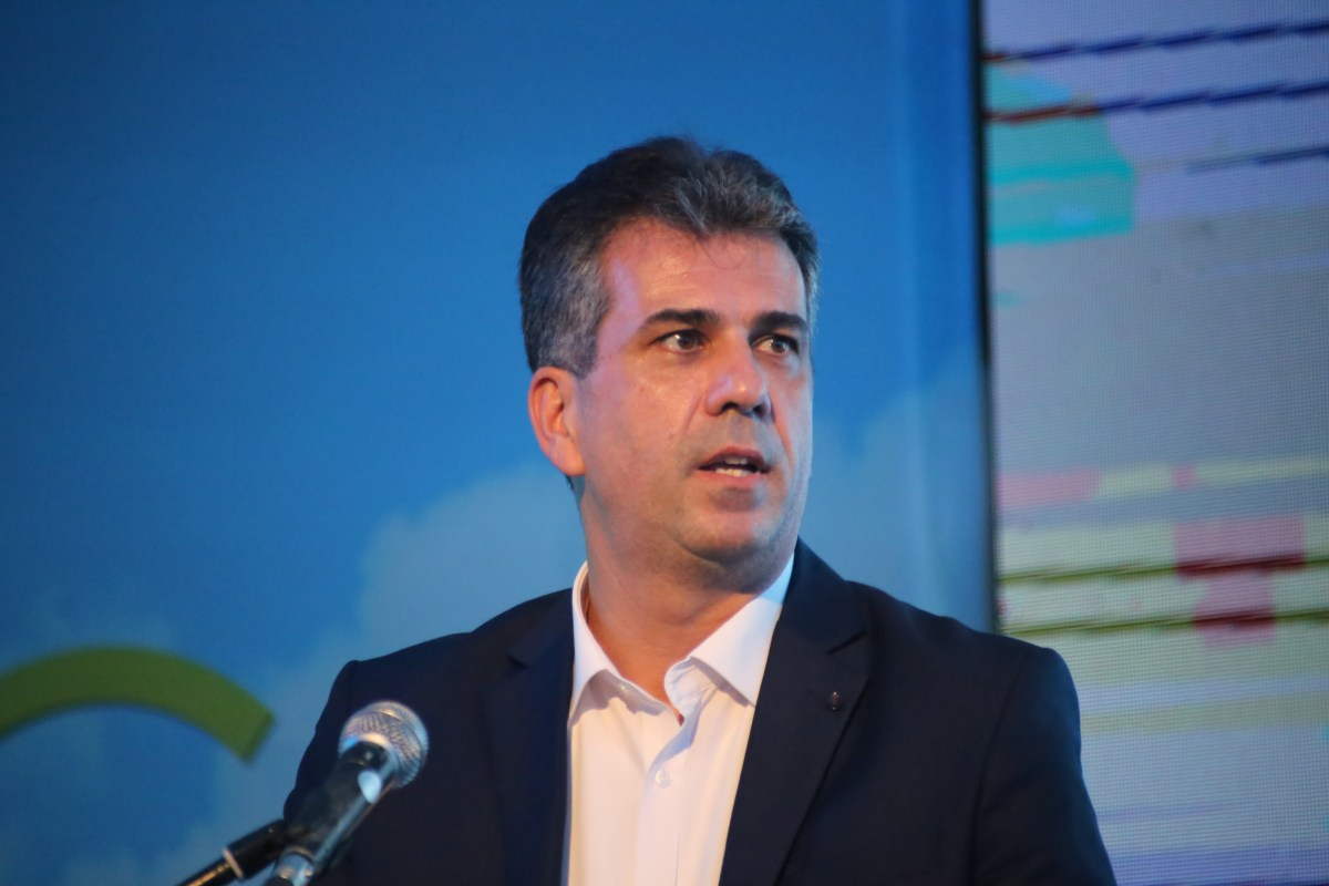 Economy and Industry Minister Eli Cohen