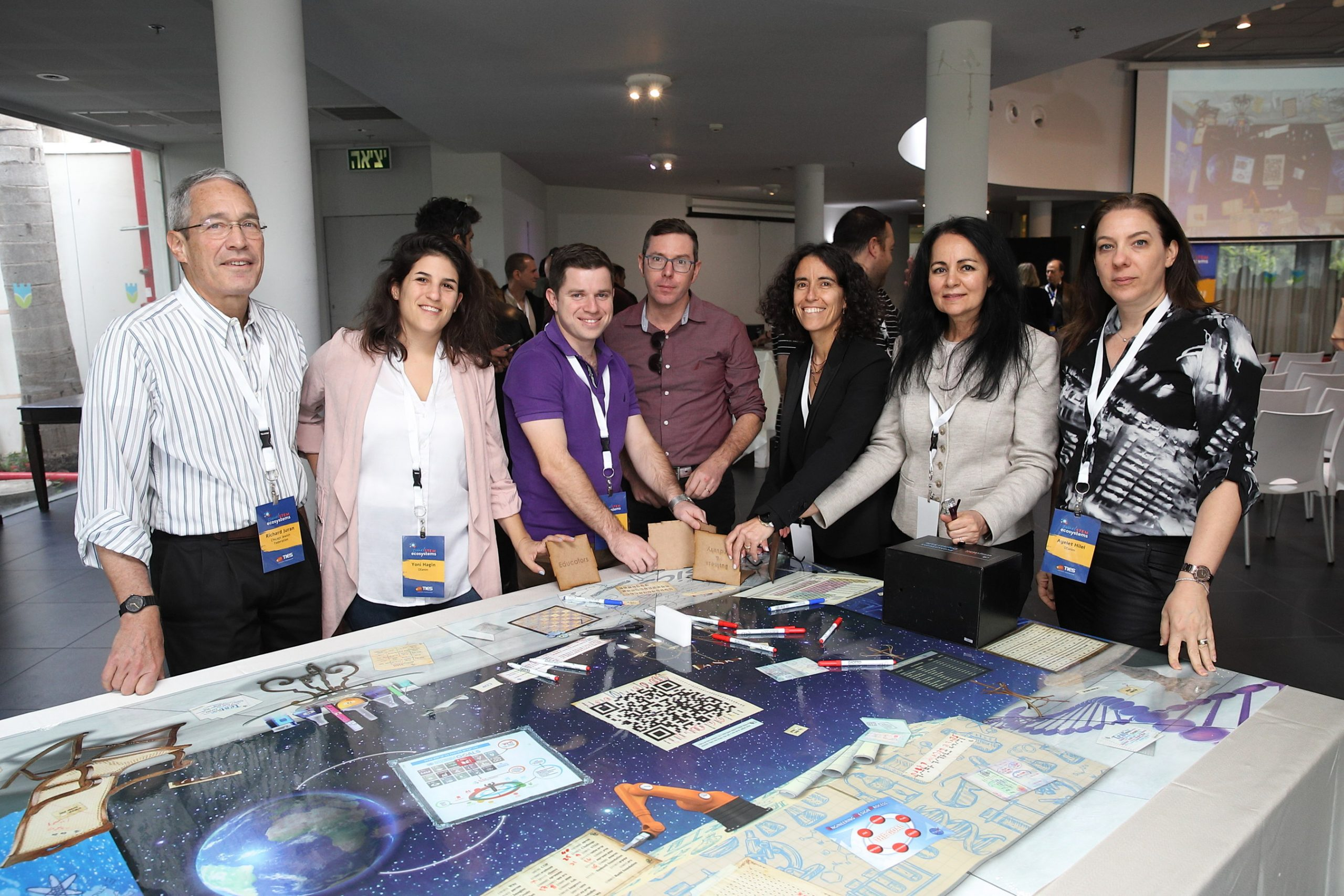 More than 150 leaders participate in the nation's first Israel STEM Ecosystems convening. Sessions include Design Studios and learning about best practices from successful U.S.-based STEM Learning Ecosystems. Learn more at www.stemecosystems.org
