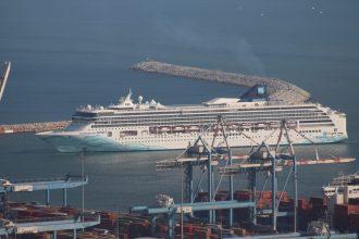 Norwegian Spirit Arrives to Haifa