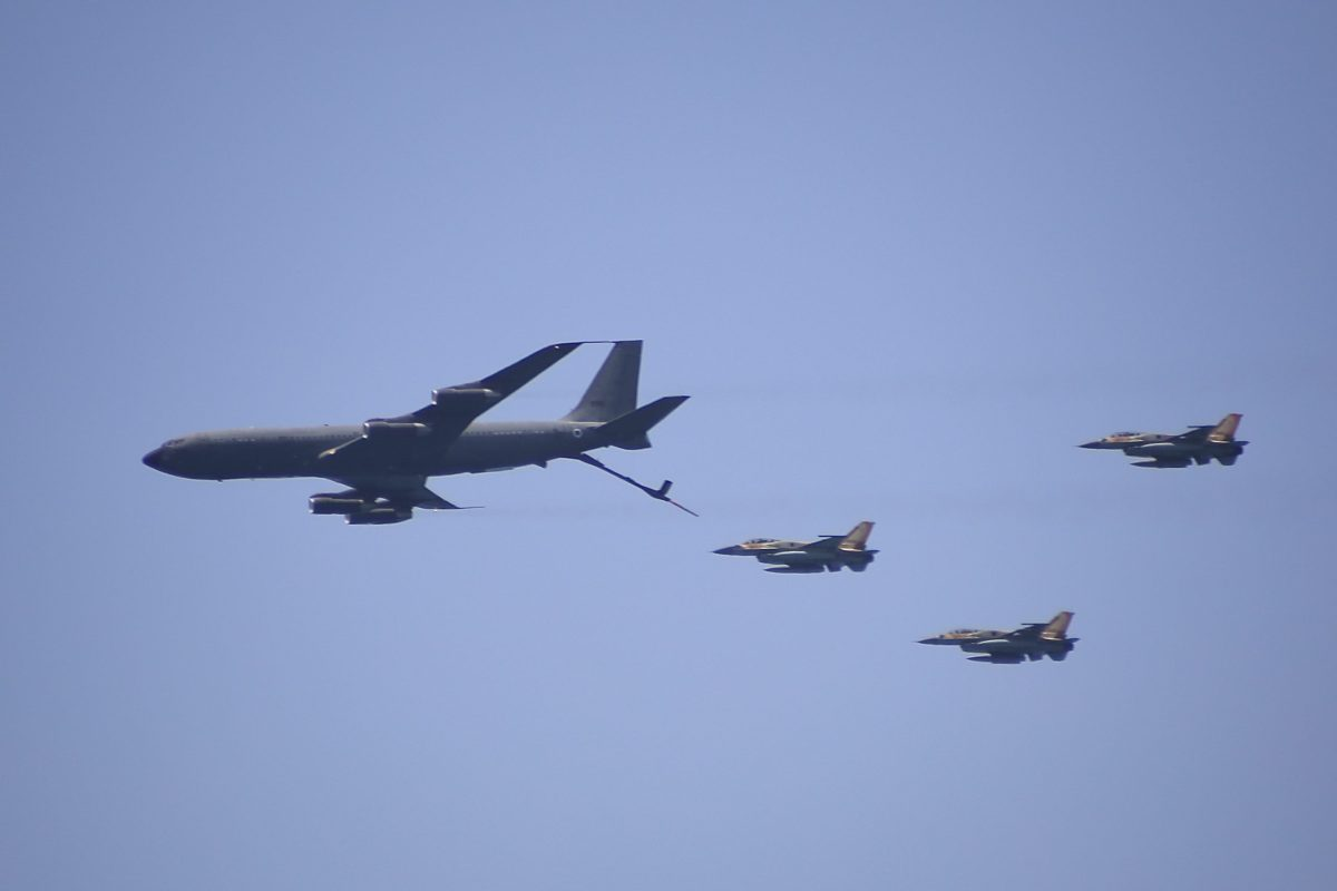 The State Department has approved a sale to Israel of 8 KC-46 aerial refueling tankers for $2.4 billion
