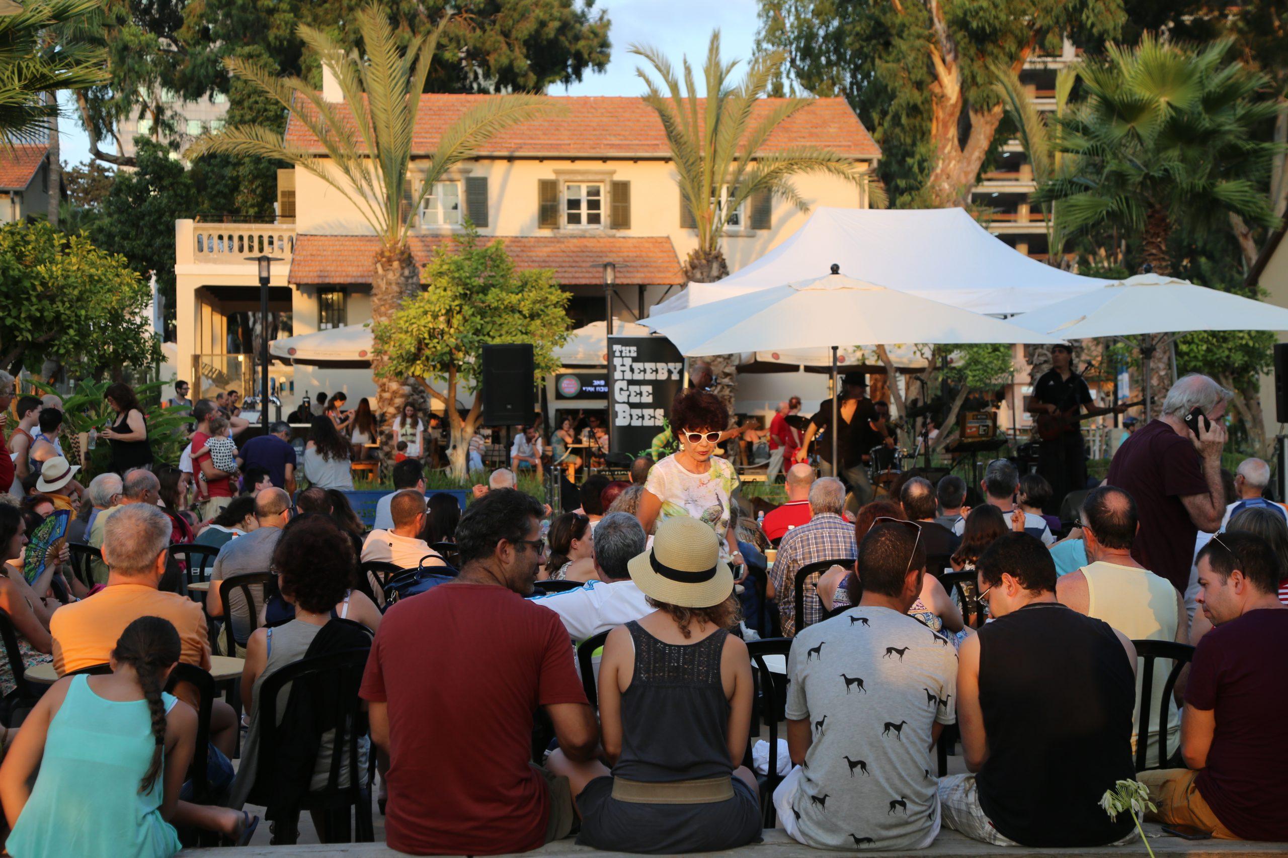 The Life We Had Before Coronavirus: Summer Concert in Sarona, Tel Aviv