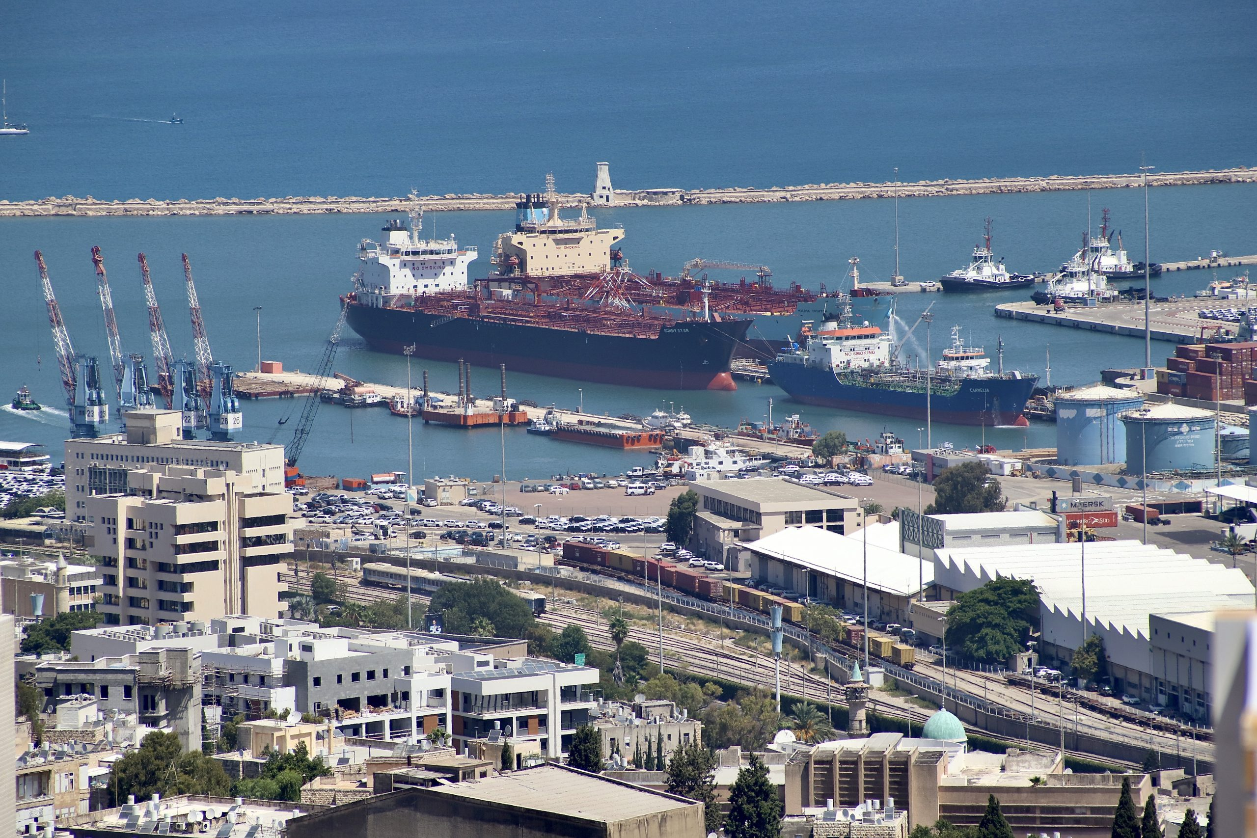 Trans-Arabian Pipeline with Oil Terminal in Haifa Port May Become a Reality