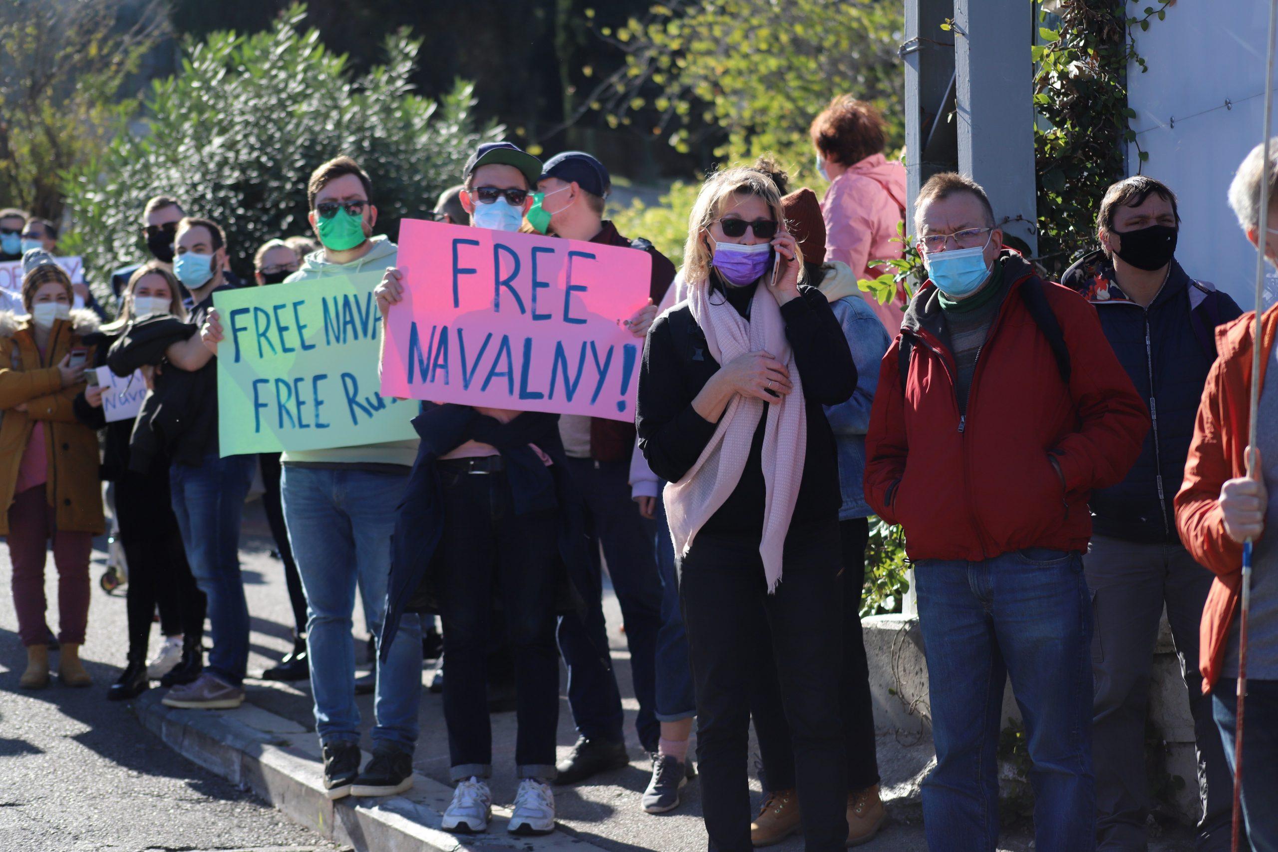Haifa supports Navalny
