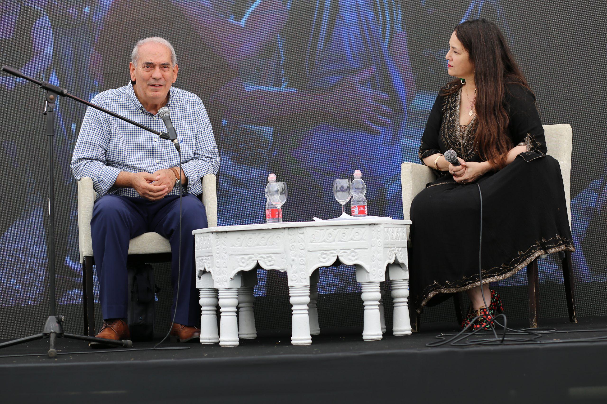 Israeli chef Shalom Kadosh, left