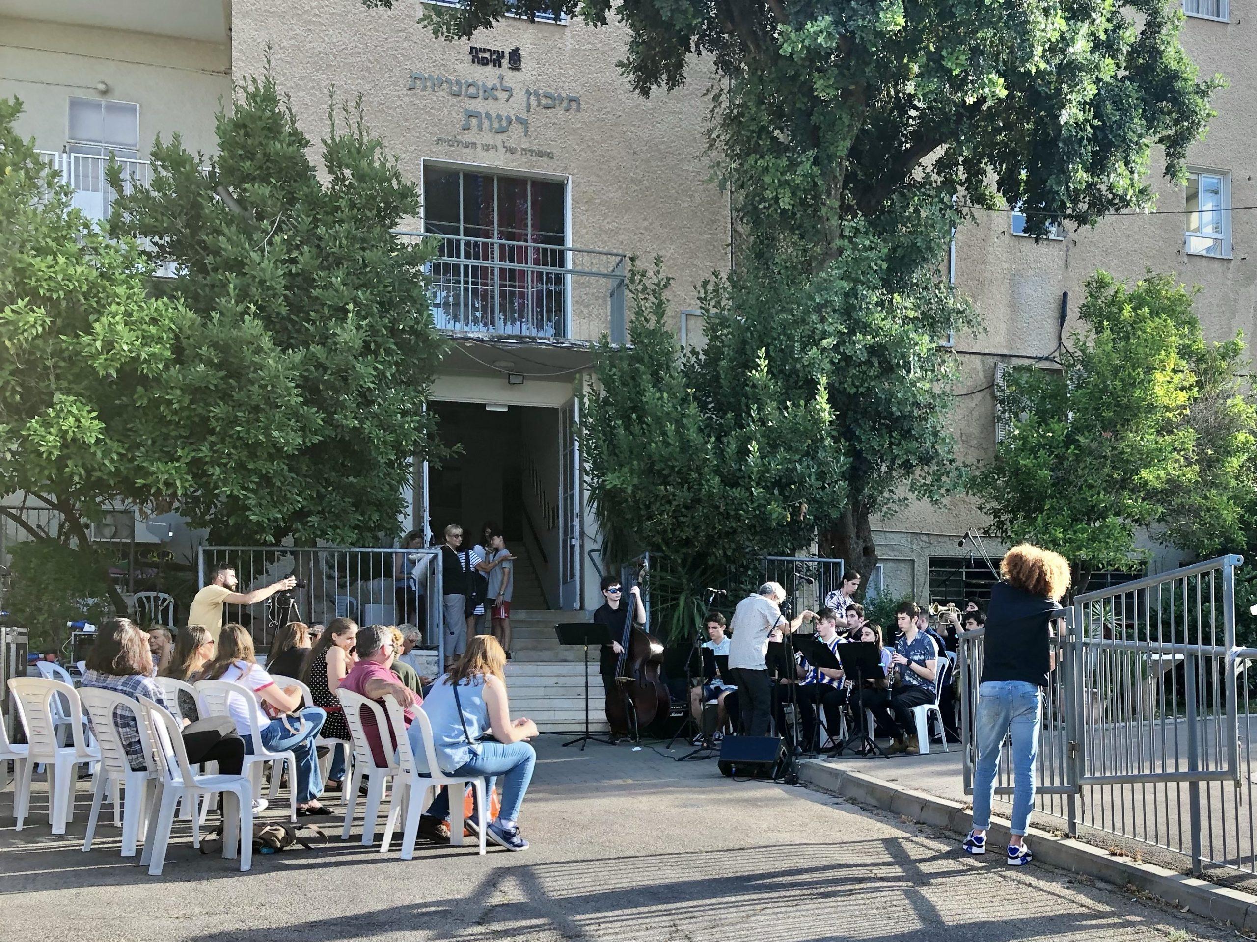 Summer Concert in Reut School of Arts, Haifa