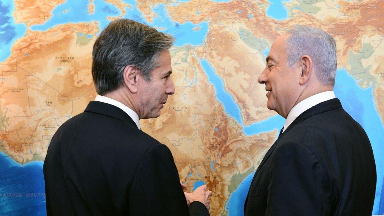 "Netanyahu a Blinken: ""Espero que EE.UU no vuelva al Acuerdo Nuclear"""
