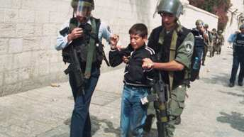 Israeli Soldiers Invade An Orphanage School In Jerusalem