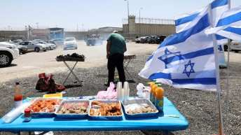 VIDEO: Israelis taunt Palestinian hunger strikers with barbecue; Samidoun calls for action