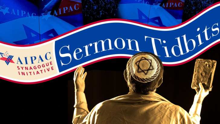 The Forward: Did AIPAC Secretly Write Your Rabbi's Sermon?