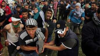 OCHA oPt: Humanitarian snapshot: mass casualties in the Gaza strip