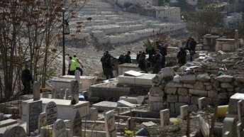 Israel digs up centuries old Palestinian graves in Jerusalem