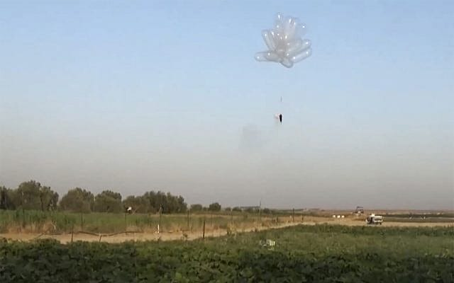 Struggling to keep pace with Palestinian ingenuity, Israel limits helium imports to Gaza