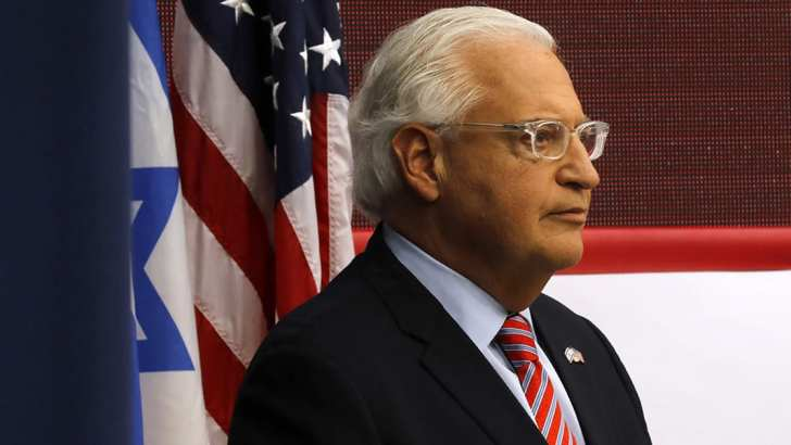 Trump ambassador blocks scrutiny of Israel