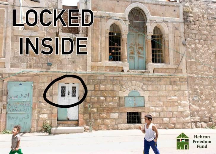 Soldiers welded the door shut locking the family inside