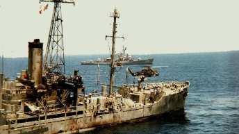 One Freedom Flotilla Passenger was a USS Liberty Survivor