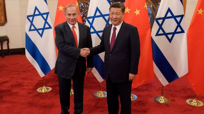 Israel deepens trade ties with China, causing potential danger to the U.S.
