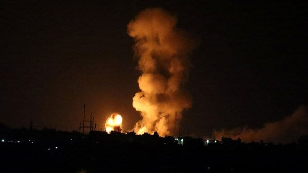 Israeli forces Bomb 25 Sites in Gaza; One Soldier Killed By Gaza Resistance after Four Palestinians killed by Israel