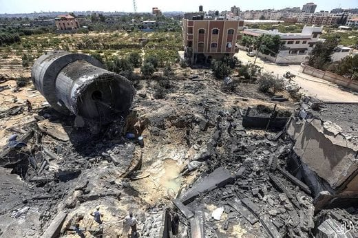 Water Works in Gaza Destroyed