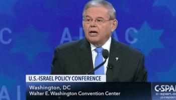 Pro-Israel group raises half a million dollars for Menendez - eludes donation law