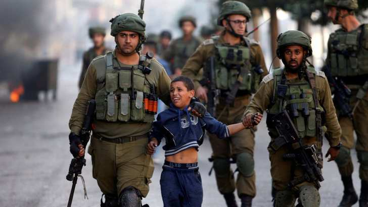 Goliath lives: Palestinian children at risk in school