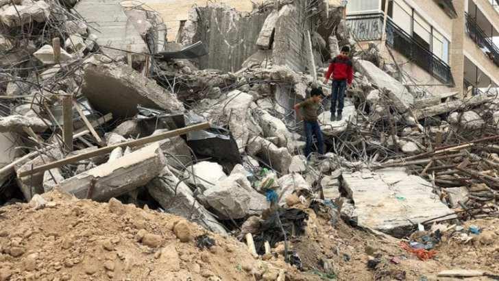 Israel demolishes Palestinian homes, shops in Palestinian East Jerusalem