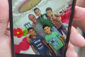 The at-Tanani family, who were all killed in an Israeli airstrike