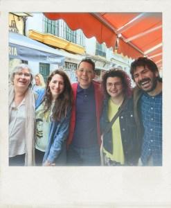 Foto de recuerdo: curso de iniciación, primavera 2018 | Taller de Escritura Creativa de Israel Pintor en Sevilla