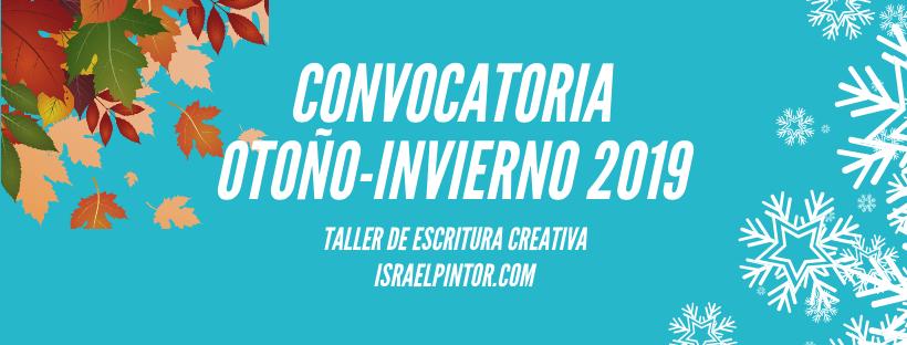 Convocatoria invierno-Primavera 2019