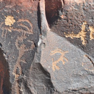 Rock drawings Negev