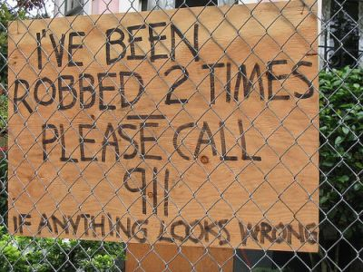 stop a robar más tiempo