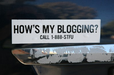el final del blogging