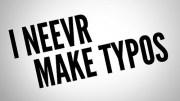 Equivocaciones, fallos, errores y faltas de ortografía