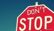El arte de no parar
