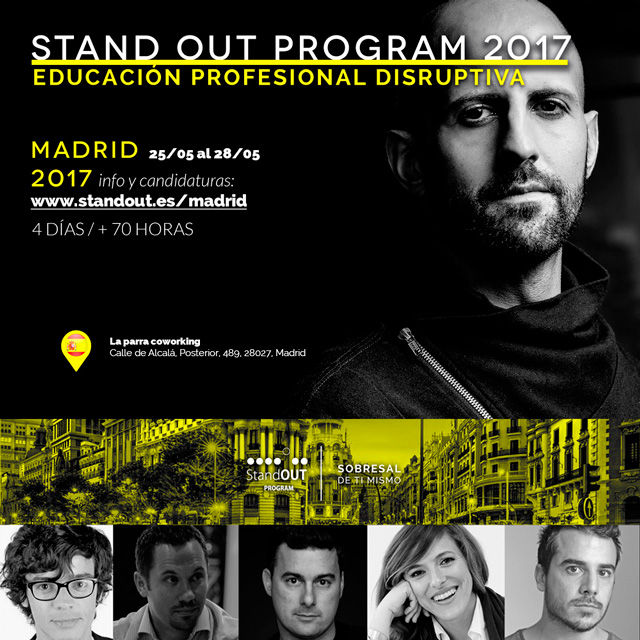 Stand OUT Program Madrid 2017