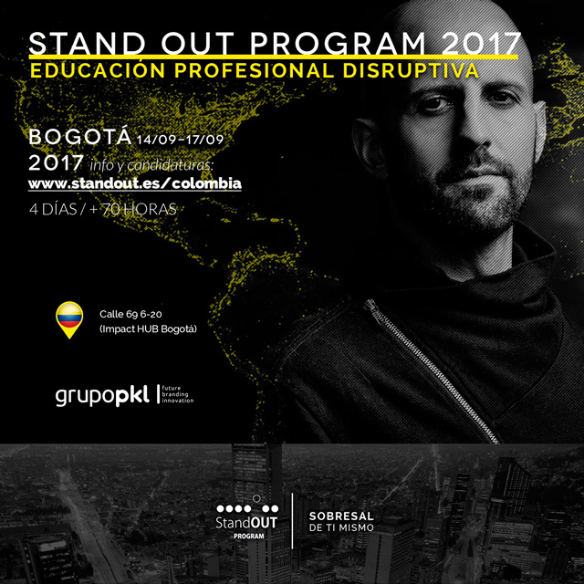 Stand OUT Program Colombia 2017