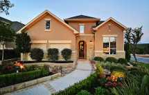 Texas Hill Country Stone and Stucco Homes Exteriors