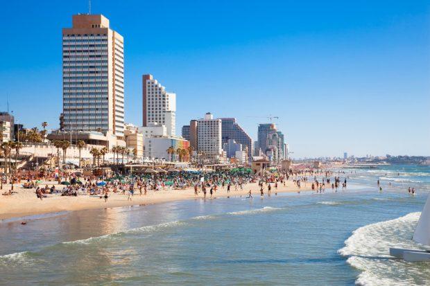 Panoramic view of the Tel-Aviv , Тель Авив