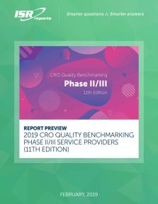 CRO Quality Benchmarking Phase II III Service Providers
