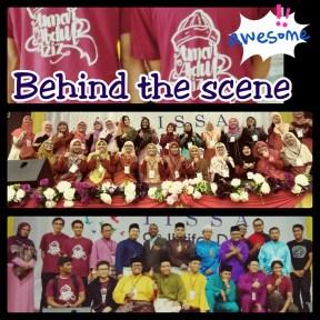 IHTIFAL 2015 behind d scene