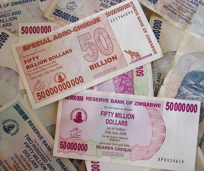 The 'Economic Trauma' that Zimbabwe faces by Susan Wyatt
