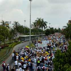 Marie Antoinette rules in Colombia as the masses protest against inequality