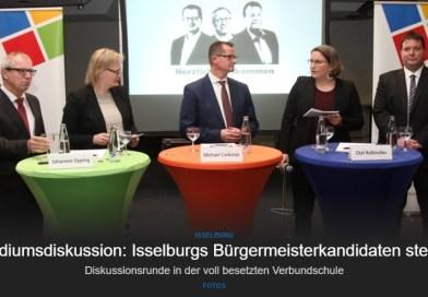 Bürgermeisterkandidaten unterstützen Schule für Isselburg