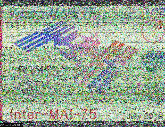 ISS SSTV with low audio