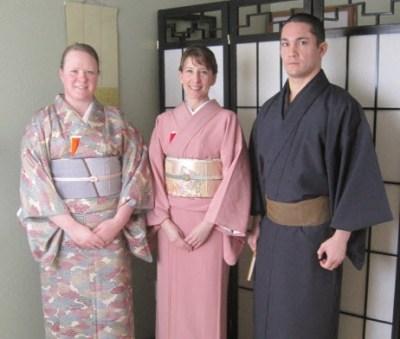Stephanie (host, center) and Senpai