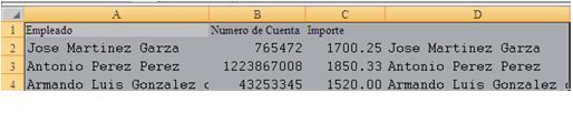 Crear el Layout para un archivo de Texto (1/4)