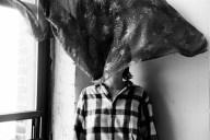 Untitled (self portrait curtain)