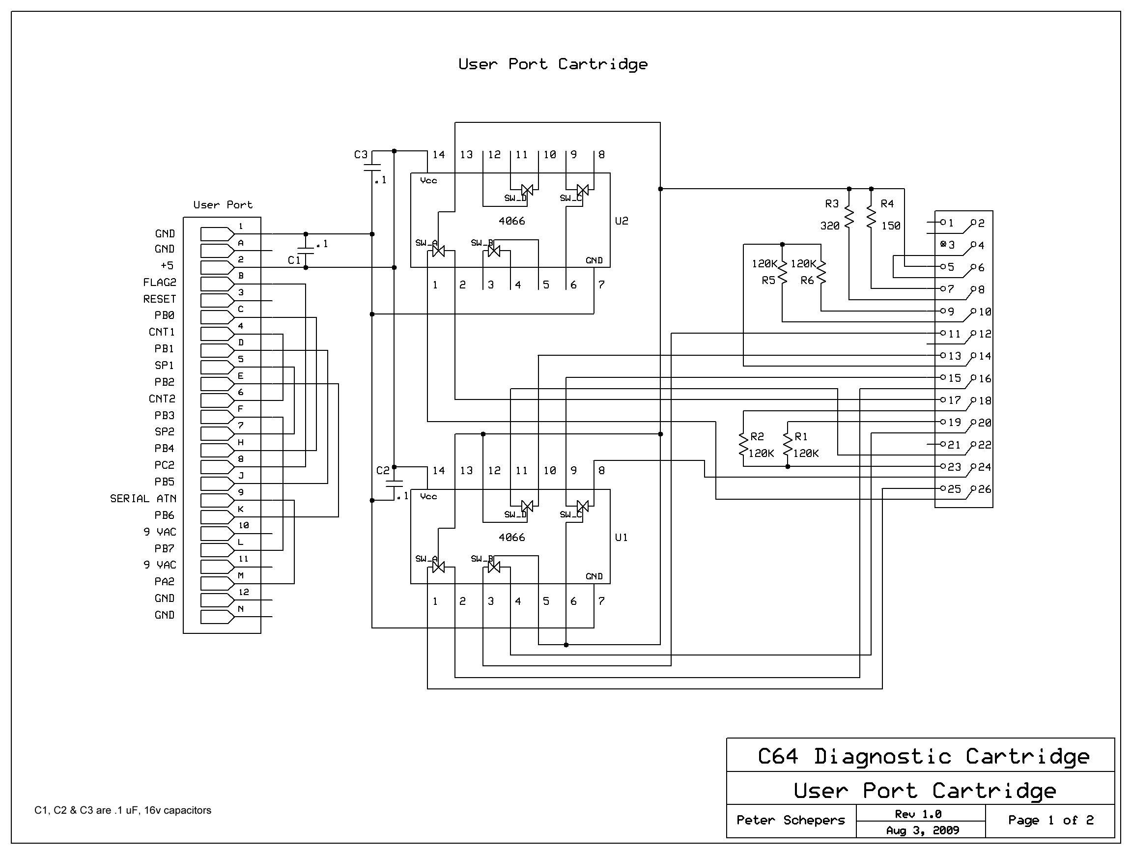 Commodore Diagnostic Jig