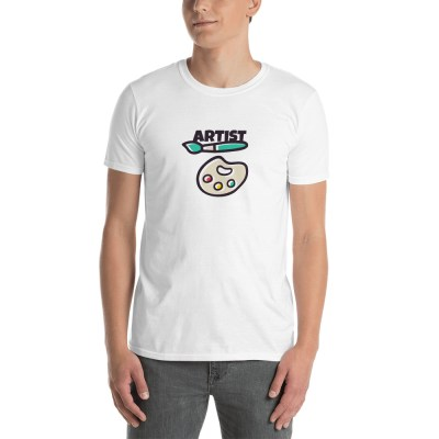 T-shirt in soft cotton jersey with a printed graphic design and crew neck