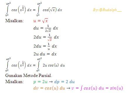 Rumus beserta contoh soal kalkulus. Soal Dan Pembahasan Integral Tertentu Fungsi Trigonometri 1 4 Istana Mengajar